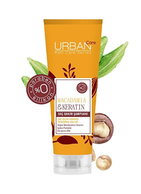 Urban Care Macadamia Oil Fusion Saç Bakım Şampuanı 250 Ml Renksiz
